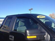Ford F-150 Super Crew/Reg Window Vent Deflector Rain Visor 2009-2014 JSP 218103