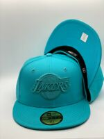 Los Angeles Lakers New Era MLB Color Pack Collection 59Fifty Fitted Ripple Blue