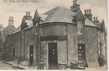 Shop and Hotel, Fordyce, Banffshire