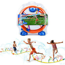 Banzai Wiggling Water Sprinkler Kids Hose Summer Fun Games Garden Outdoor Toy