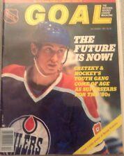 GOAL THE NATIONAL HOCKEY LEAGUE MAGAZINE  DECEMBER 1981 WAYNE GRETZKY COVER