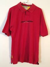 Vintage 90s Tommy Hilfiger Athletics Red Rugby Xl