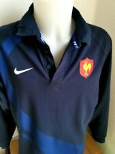 superbe  maillot de rugby FRANCE 2008  marque nike   taille xl rugby