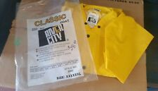 River City 200C 2-Piece Classic Yellow Rain Coat Size XXXXXXL