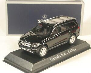 1:43 Mercedes-Benz GL-Class 2012 Norev #351335 black metallic