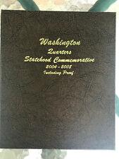 Dansco Washington Statehood Quarter 2004-2008 W/Proof Album #8144 w/Slipcase