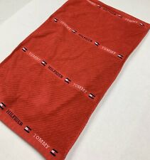 Vintage Tommy Hilfiger Hand Towel Red Spell Out