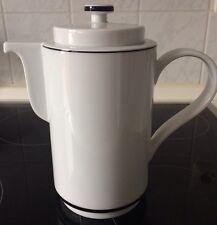 "Arzberg CULT ""Linea Negra"" Kaffeekanne 1,2 Liter schwarzer Rand Porzellan"