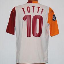 maglia totti roma diadora 2005 2006 UEFA CUP bancaitalease XL away shirt jersey