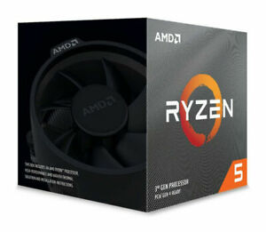 AMD Ryzen 5 3600XT Processor (4.5 GHz, 6 Cores, Socket AM4) - 100-100000281BOX