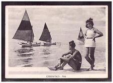 Cartolina Cesenatico Vele Forlì Animata Barche HG309