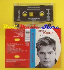 MC RICKY MARTIN Vuelve 1998 holland TRISTAR TSR 488789 3 no cd lp dvd vhs