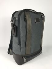 Tumi Alpha Bravo Dover Laptop Business Backpack Anthracite 222682ATH