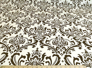 Discount Fabric Premier Prints Traditions Chocolate and Natural PR21
