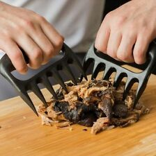 BBQ MEAT PAWS CLAWS PULL TOSS LIFT PORK BEEF FORK SHREDDING TONGS HANDLER