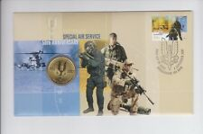 1957 2007 50th Anniversary Special Air Service SAS $1 Coin & Stamp Set PNC FDC