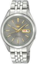 Seiko 5 SNKL19 SNKL19K1 Men's Stainless Steel Grey Dial Automatic Watch