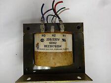 "Basler Transformer BE23976004; X1350075-01L; 208/230V; 60HZ----""USED"""