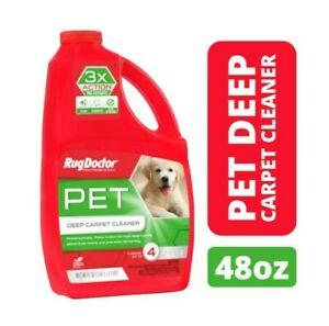 Rug Doctor Pet Deep Cleaner, Non-Toxic Concentrated Carpet Solution, 48 Oz.