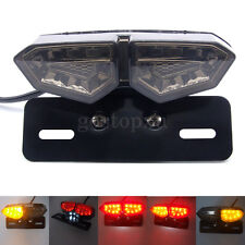 Universal Motorcycle LED Indicator Brake Rear Tail Stop License Plate Turn Light