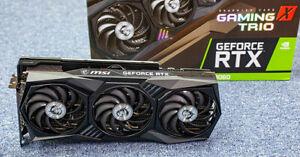 MSI GeForce RTX 3060 Gaming X Trio 12 Go GDDR6 Carte Graphique Imprimée
