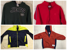 Assorted Kids Jackets Lot of 4 New York Jets + Starter All Size Small #YJ-37A
