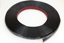 SCHWARZE Zierleiste 20mm 15m selbstklebend universal Auto Kontur Leiste schwarz
