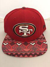 NEW ERA SAN FRANCISCO 49ERS PRINT PLAY AZTEC 9FIFTY SNAPBACK HAT 950 SF NFL CAP