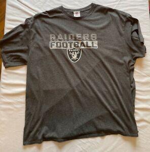 Vintage NFL Oakland Raiders Black T-Shirt 3XL