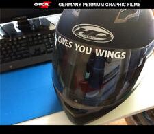GIVES YOU WINGS HELMET SHOEI 93 / 46 MotoGP Motorcycle Vinyl Decal Sticker