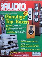 Audio 6/07 B & W 683, Canton GLE 409, Transrotor ZET 3, Onkyo TX-SR 505, Yamaha