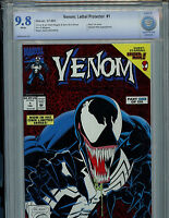 Venom Lethal Protector Issue # 1 CBCS 9.8 NM/MT Marvel Comic 1993 Amricons