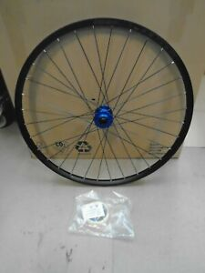 """Hope Fortus 26 MTB Front Wheel 29"""" BOOST FRONT BLUE"""
