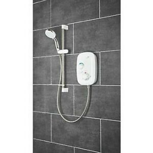 MIRA EVENT XS REAR-FED WHITE THERMOSTATIC POWER SHOWER 1.1532.400