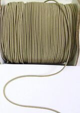 1.5 MM Taupe Stretch Elastic Tiny Cord / Tape / Wrap - 5 Yards-T1023LS