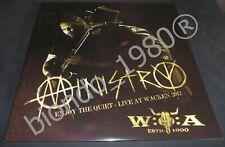 MINISTRY: ENJOY THE QUIET - LIVE AT WACKEN 2012 - 2 LP Gatefold Black Vinyl 2013