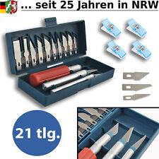 Bastelmesser Set Schnitzmesser Skalpellmesser Präzisionsmesser Modellbau Messer