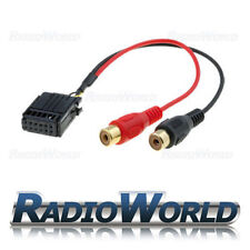 Ford Aux-IN RCA Line In Input Adapter for Ipod iPhone MP3 player Gold Phono