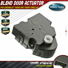 HVAC Heater Air Blend Door Actuator for Cadillac Escalade Chevrolet Tahoe GMC