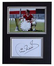 Phil Neal Signed Autograph 10x8 photo display Liverpool Football AFTAL & COA