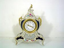 Prachtstück Vintage Kaminuhr Lindner Kueps Herrenchiemsee, handbemalt, signiert!