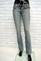 Jeans Donna GAUDI VINTAGE Taglia Size 40 Pants Woman Pantalone Gamba Dritta