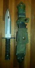 Phrobis III Buck Gen 4 Fighting Knife M9 Scabbard USGI Military Wire Cutter Ston
