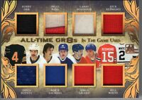 2017-18 ITG Used All-Time GR8s ORR/PARK/POTVIN/ROBINSON/SALMING+++ True 1/1 Gold