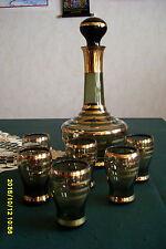 Likör-Service - 7teilig - Böhmisches Glas