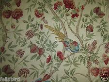 """Sanderson per tende in tessuto design """"Abbeville"""" 3.7 METRI Ruggine/SABBIA (370 cm)"""