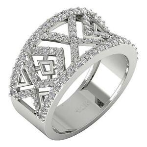Engagement Ring SI1 G 1.00 Ct Natural Round Diamond 14K White Yellow Rose Gold