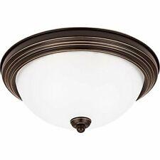 Sea Gull Lighting Medium LED Ceiling Flush Mount Light Fixture Heirloom Bronze