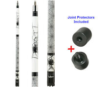 Viper Revolution SPIDER 50-1501 Pool Cue Stick 18-21 oz & Joint Protectors