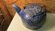 Wrought Iron Range Co. St. Louis Graniteware Cast Iron Tea Kettle